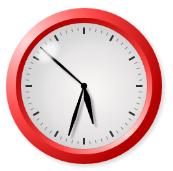 Canvas Clock Image